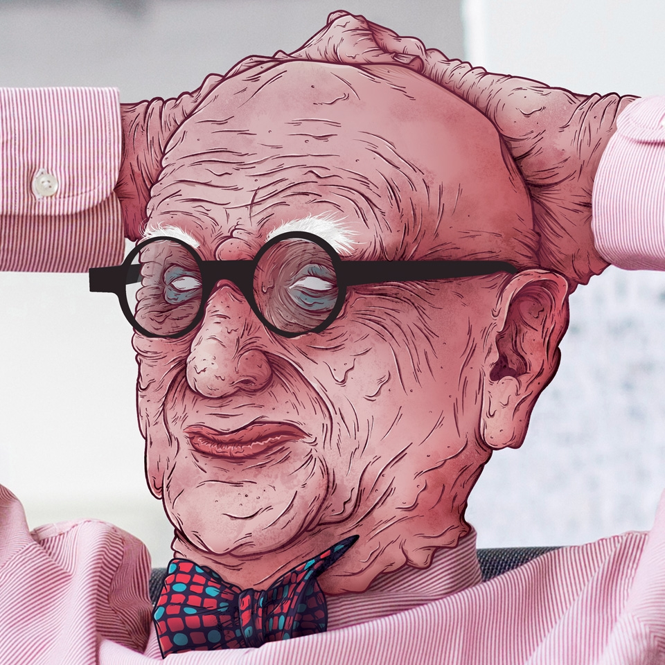 Wall of Wally – Wally Olins