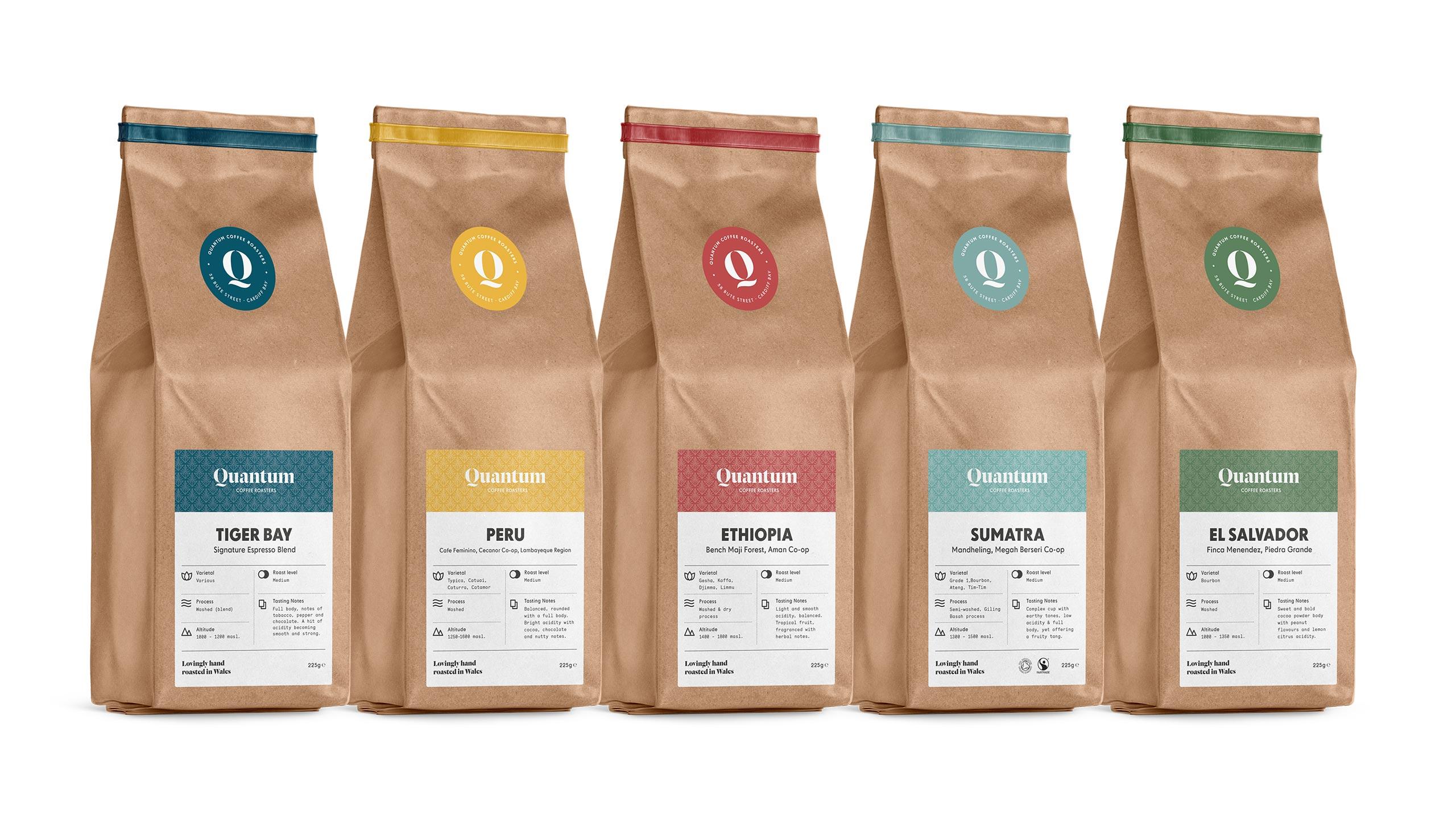 quantum coffee bags